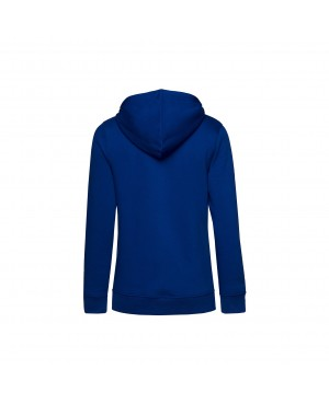 Organic Sport Hoodie Lady royal - New Wave Sportswear