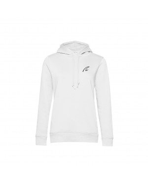 Organic Sport Hoodie Lady white - New Wave Sportswear