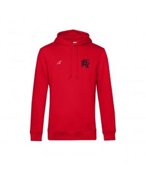 Organic Sport Hoodie - Man red