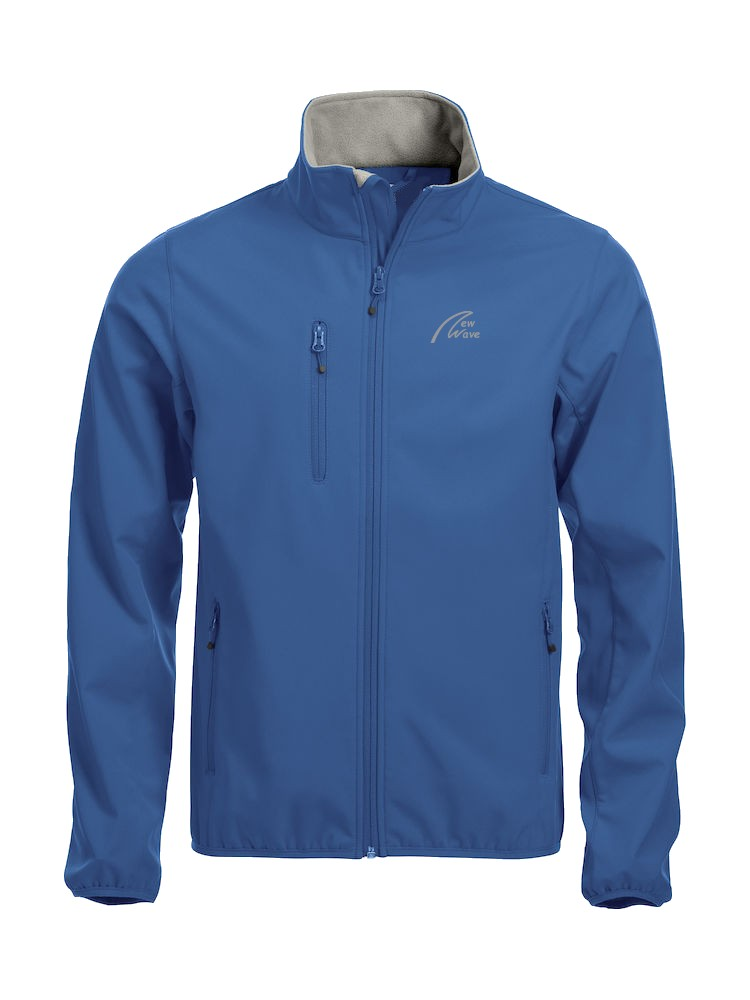 Basic Softshell-royal blau