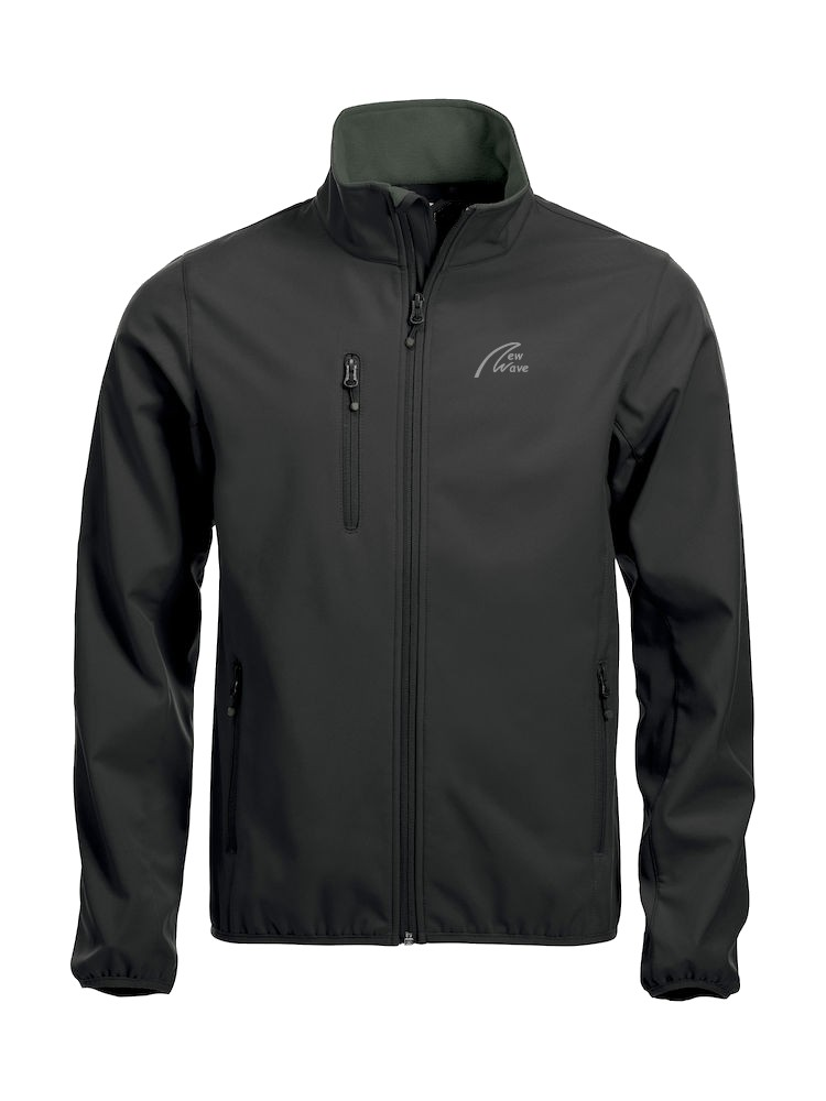 Basic Softshell-schwarz