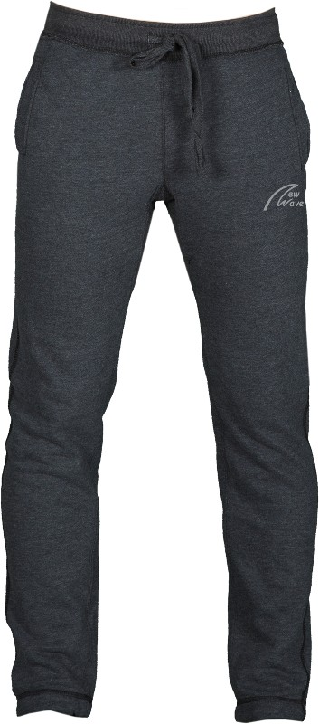 College Style Pants-schwarz meliert