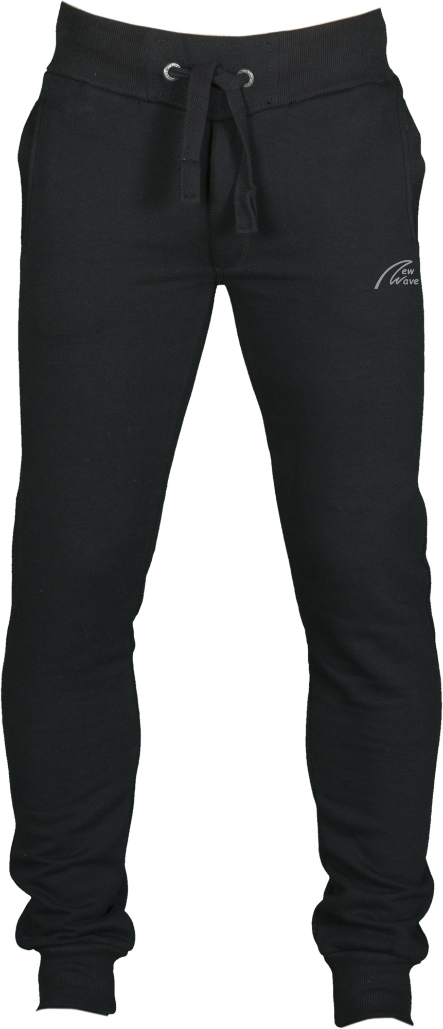 Straight Training Pants-schwarz