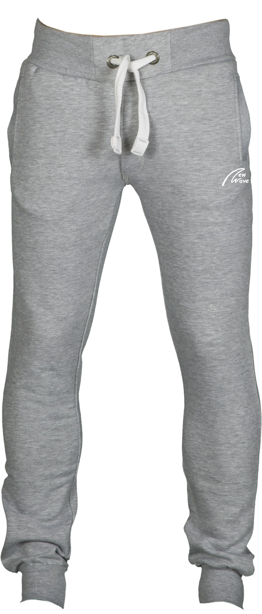 Straight Training Pants-grau meliert