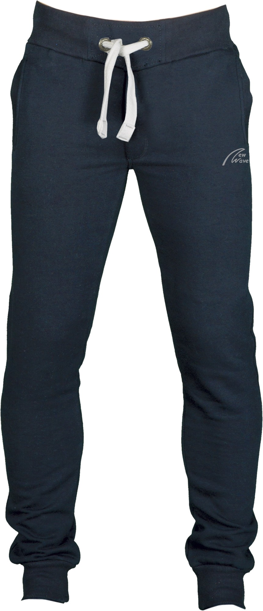 Straight Training Pants-navy blau