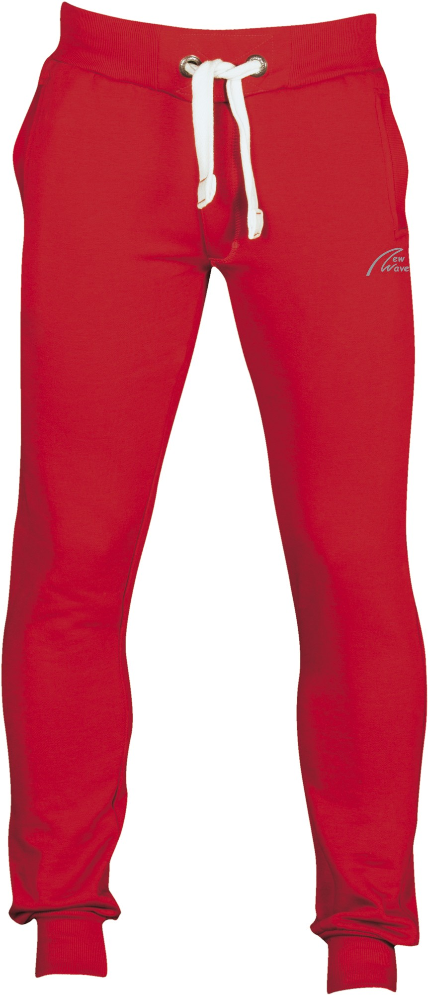 Straight Training Pants-rot
