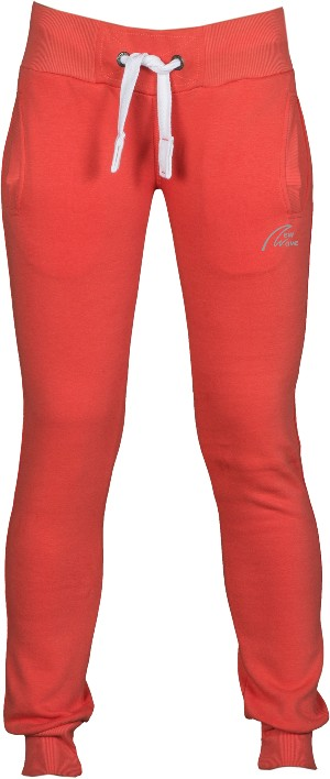 Straight Training Pants-hot coral