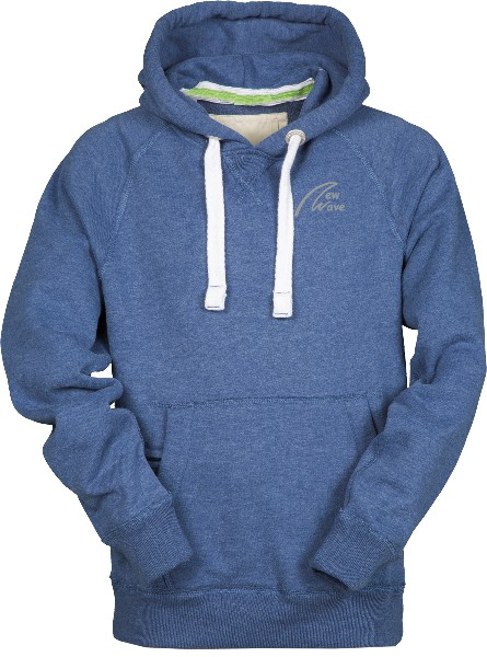 Club Sport Hoodie-light denim meliert