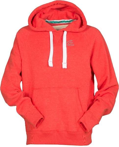Club Sport Hoodie-poppy red meliert