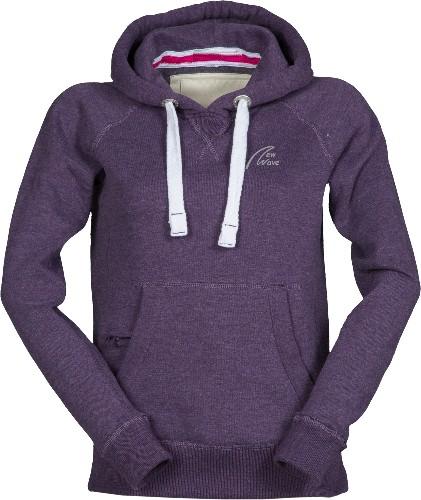 Club Sport Hoodie-indigo violett meliert