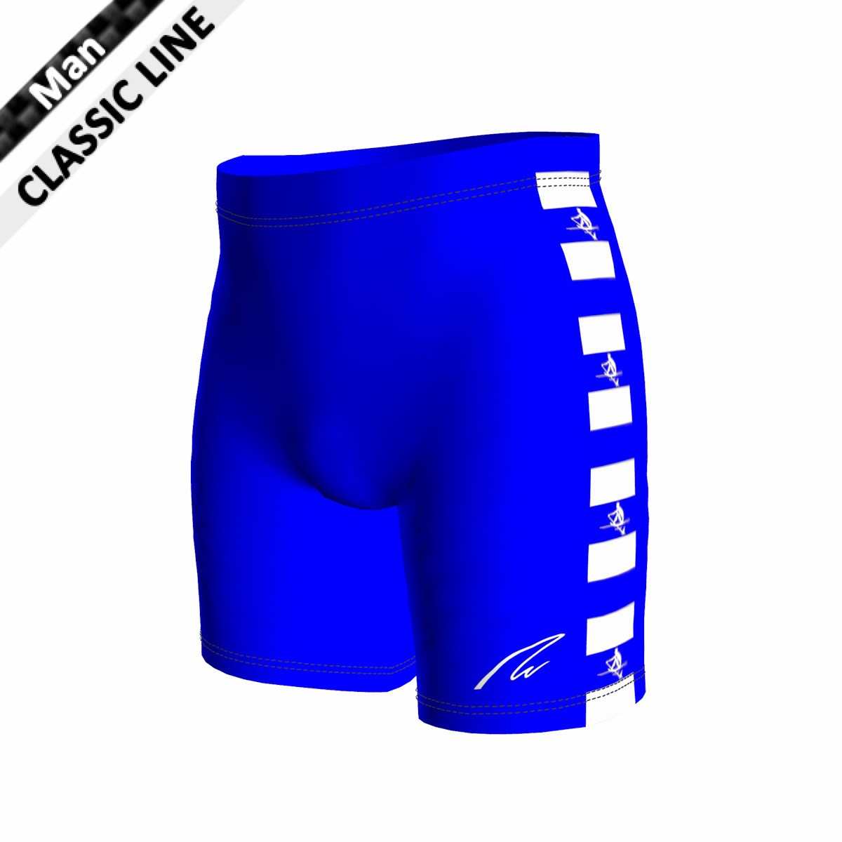 Classic Short - Tight Man royal blau