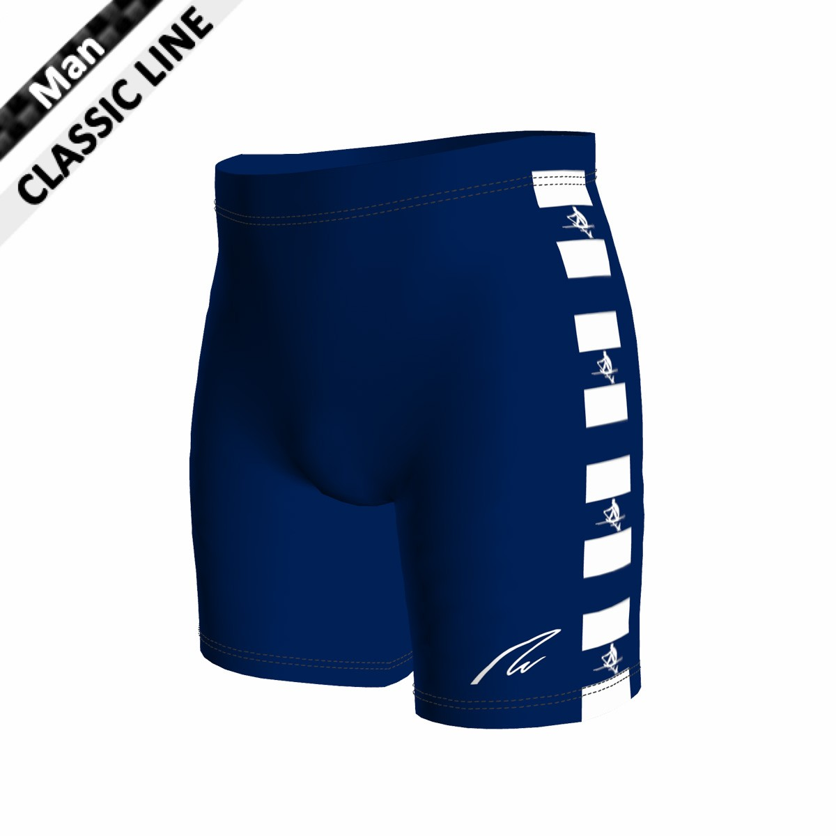 Classic Short - Tight Man marine blau