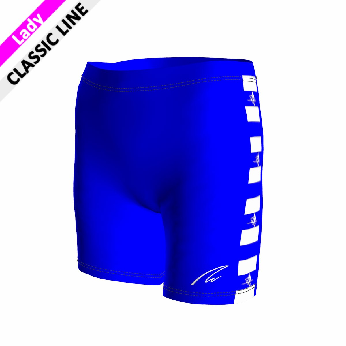 Classic Short - Tight royal blau F