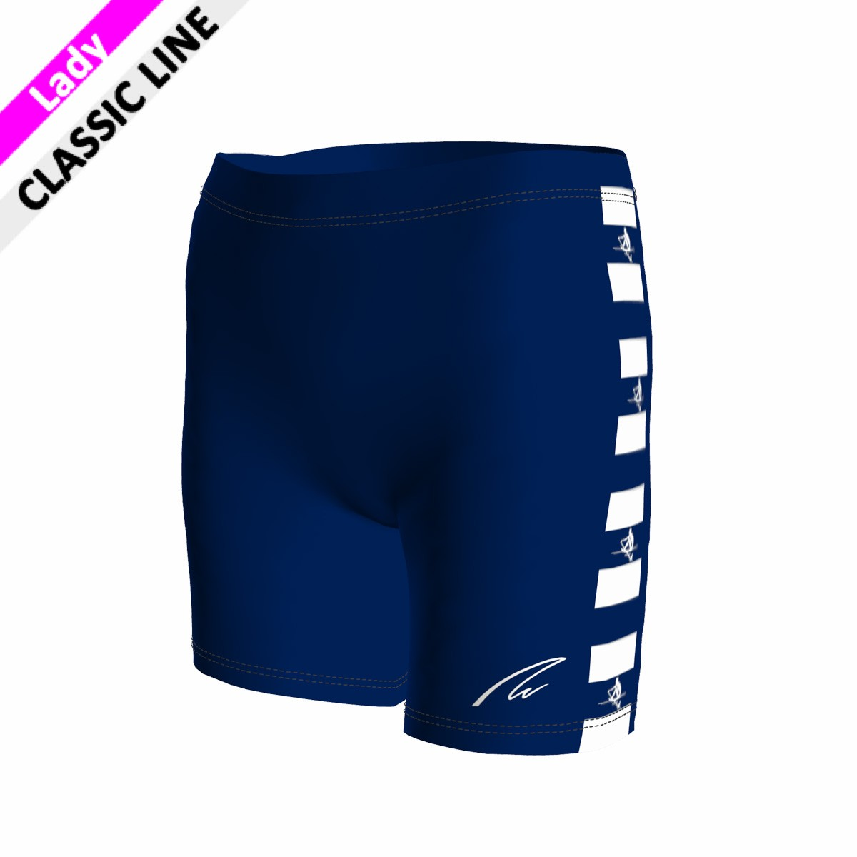 Basic Short - Tight Lady marine blau