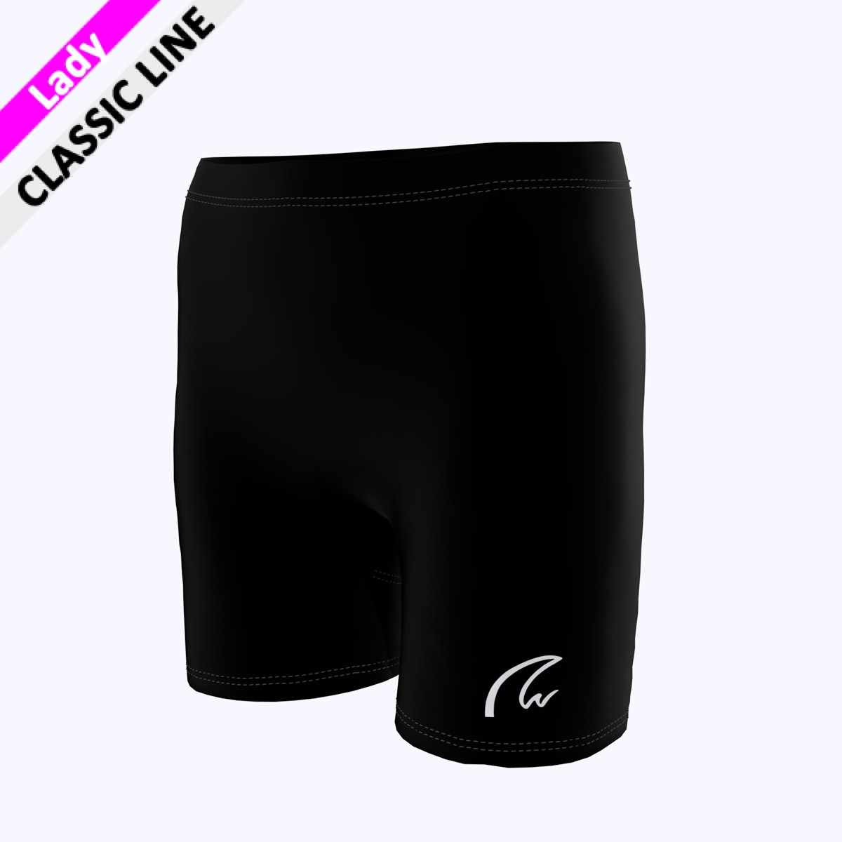 Plain Short Tight - schwarz F