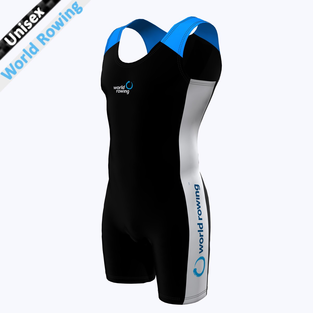 World Rowing Suit - schwarz