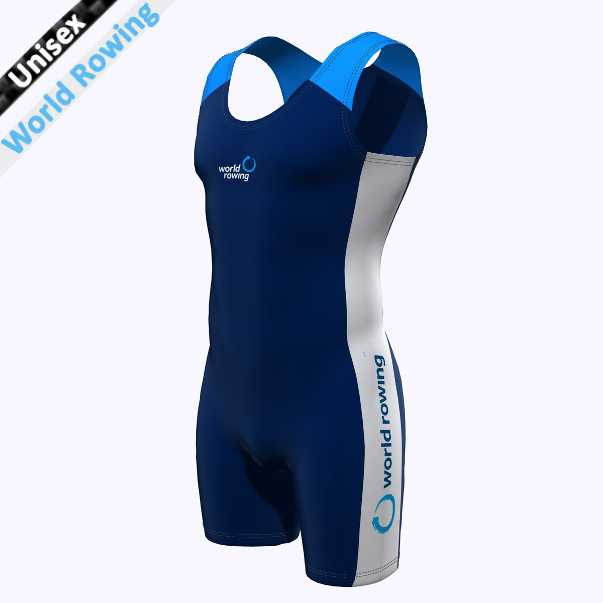 World Rowing Suit - marine blau