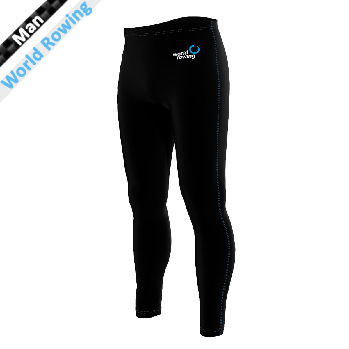 World Rowing Tights - schwarz