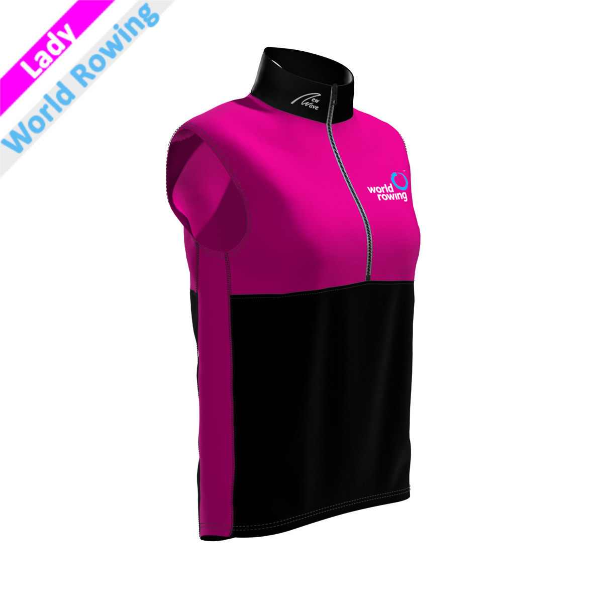 World Rowing Vest - Lady pink
