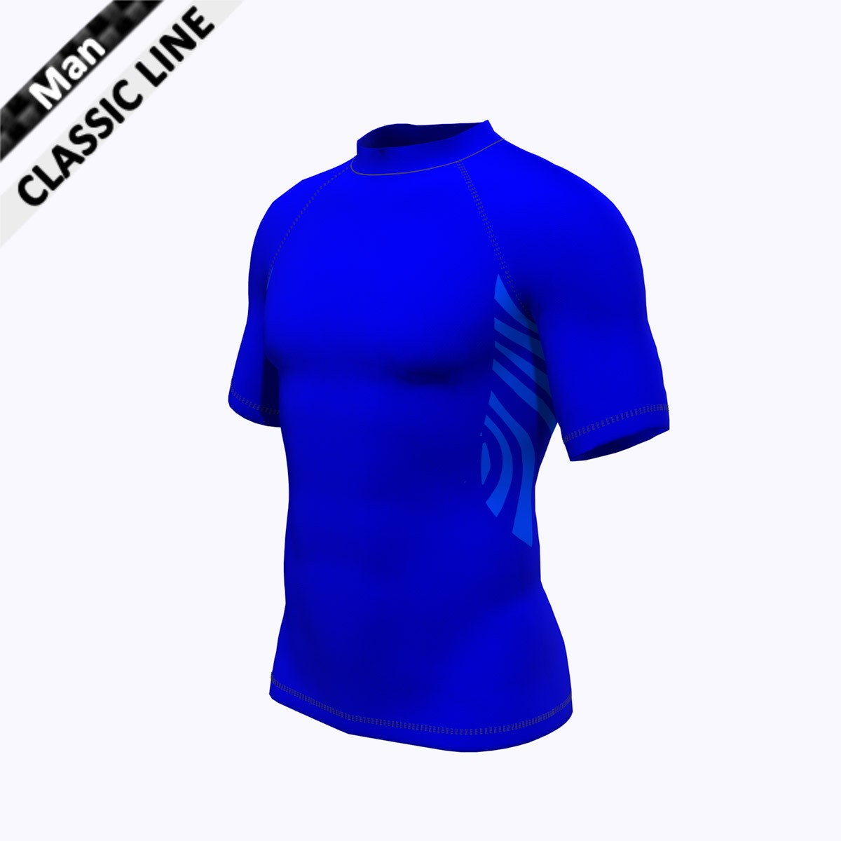 2skin - Shirt royal blau