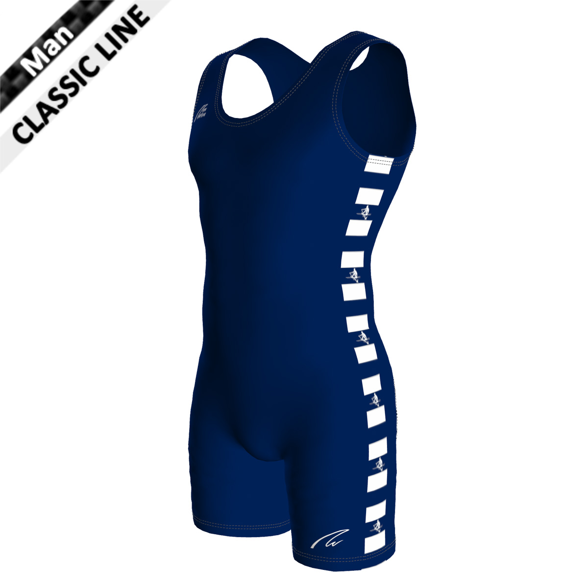 Classic Unisuit - Man marine blau