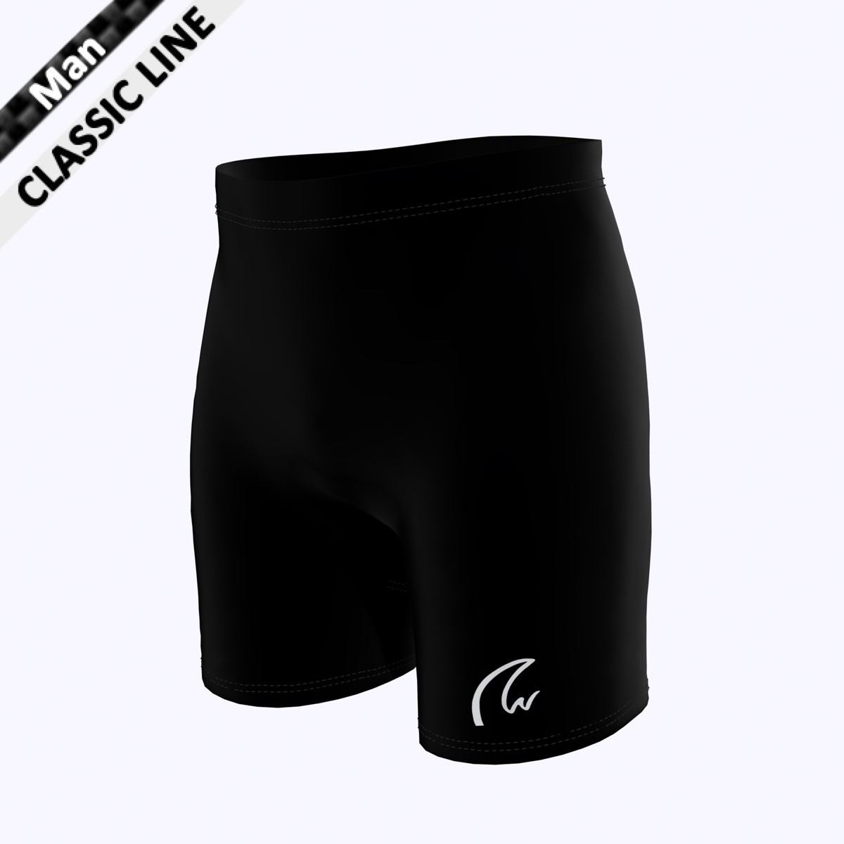 Plain Short Tight - schwarz