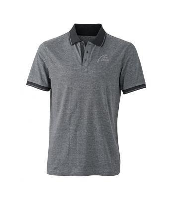 NW Style Polo - Man black/melange