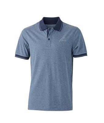 NW Style Polo - Man blue/melange