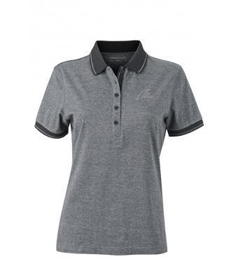 NW Style Polo - Lady black/melange