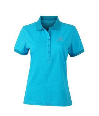 NW Style Polo - Lady turquoise melange