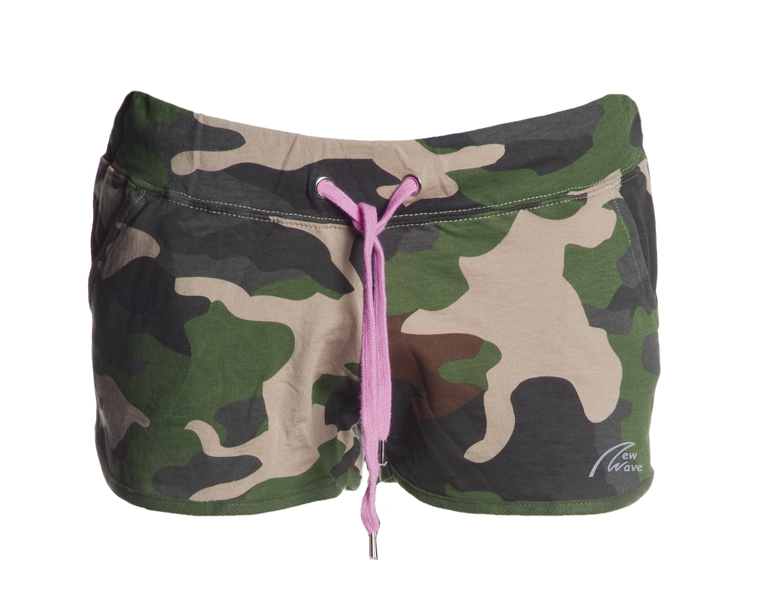 Retro Sport Shorts - Lady camouflage