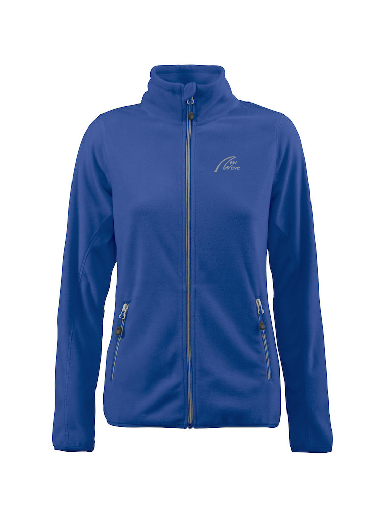 Windbreaker Fleece - Lady royal blau