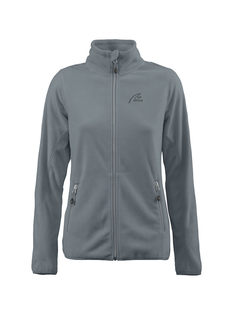 Windbreaker Fleece - Lady grau