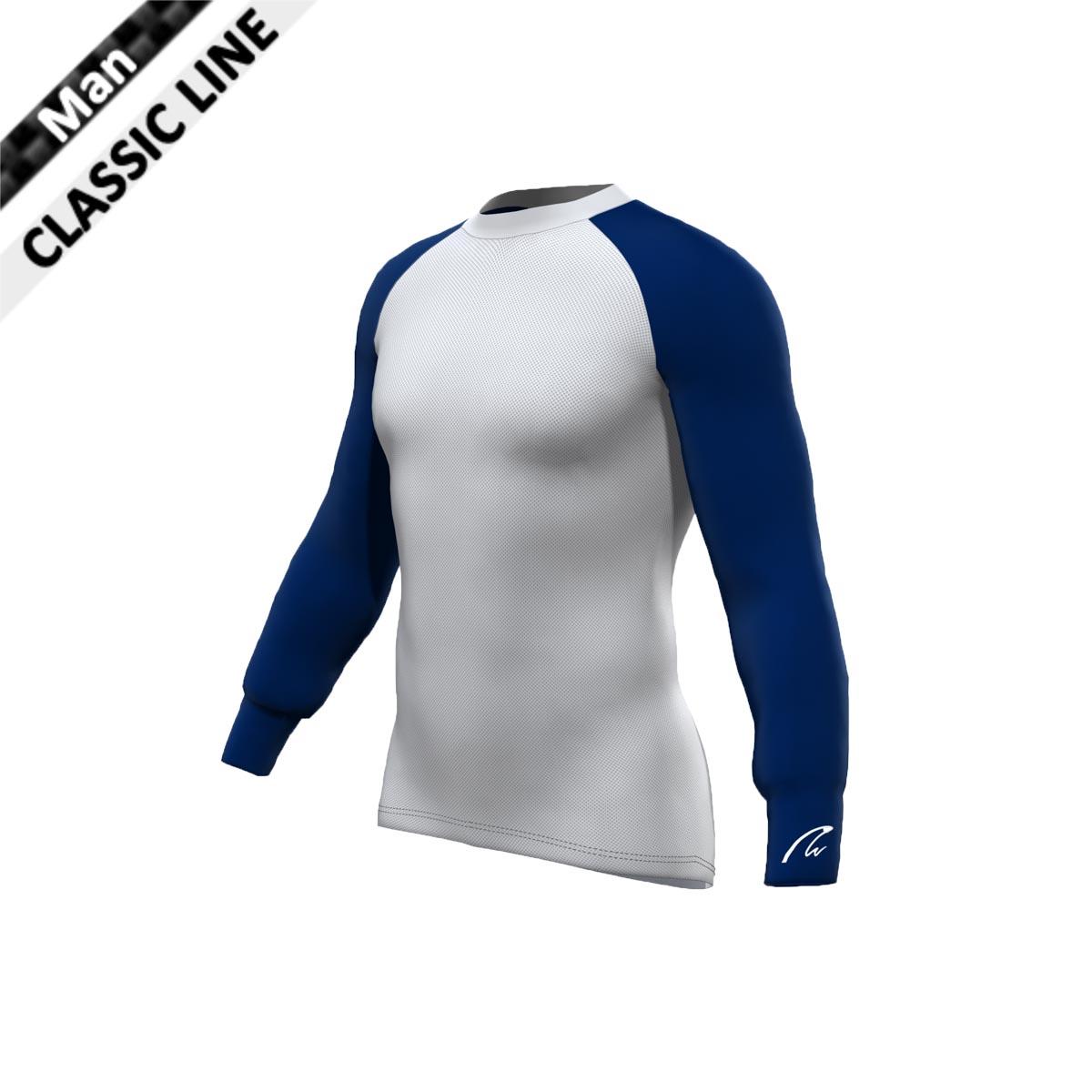 Mesh Gamex - Man Longsleeve marine blau