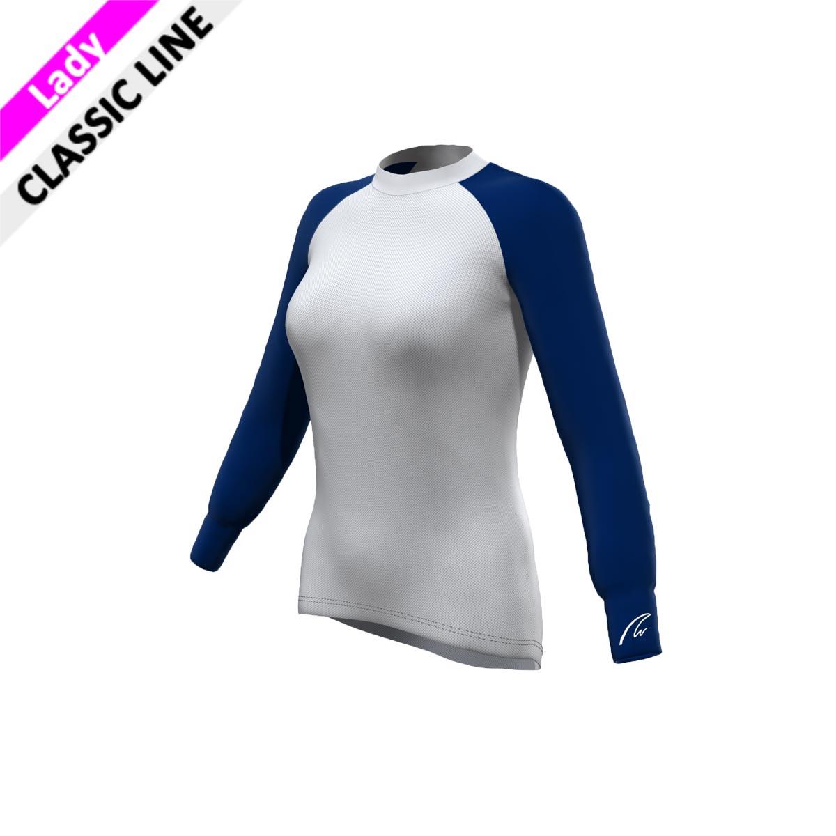 Mesh Gamex - Lady Longsleeve marine blau