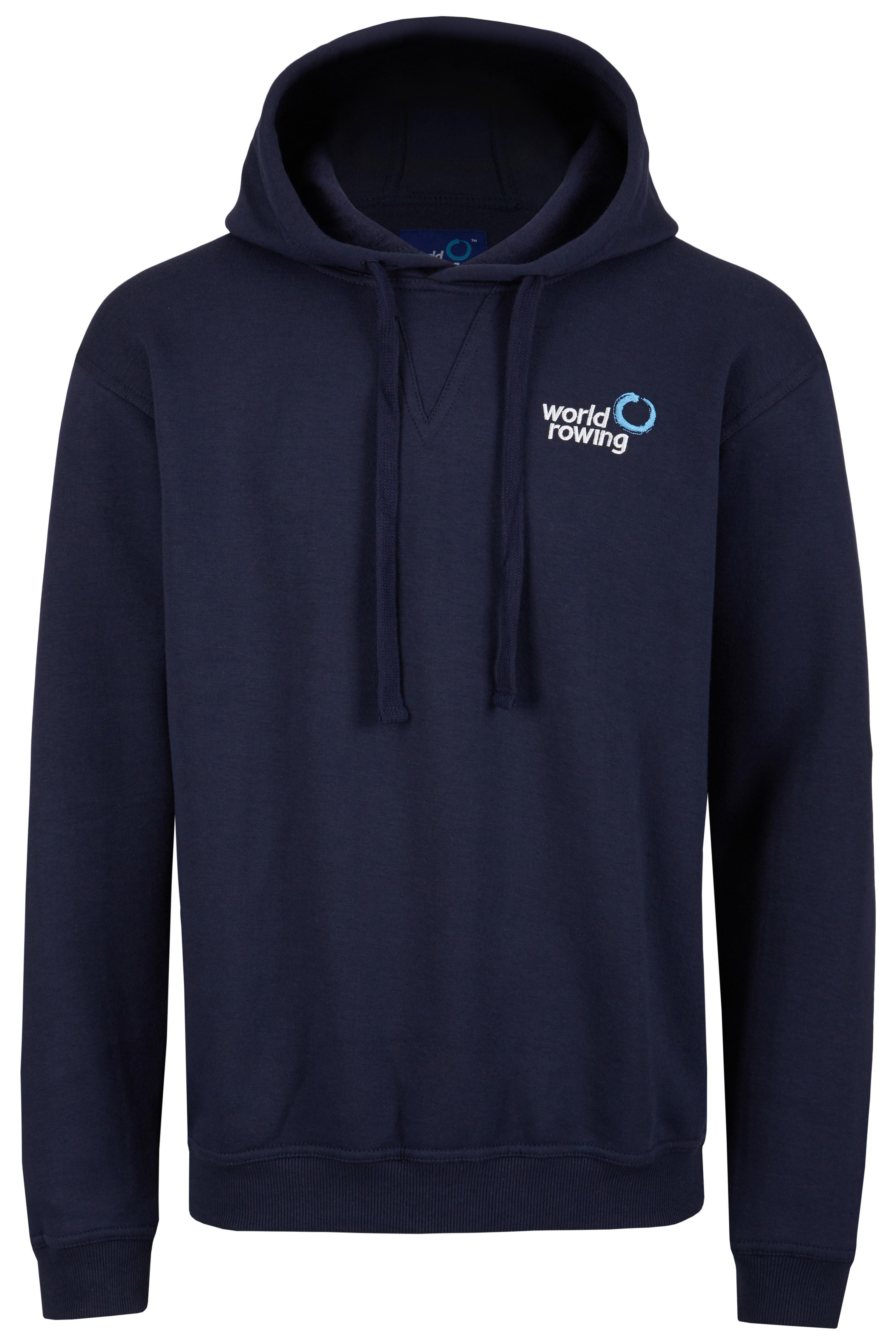 World Rowing Hoodie - marine blau
