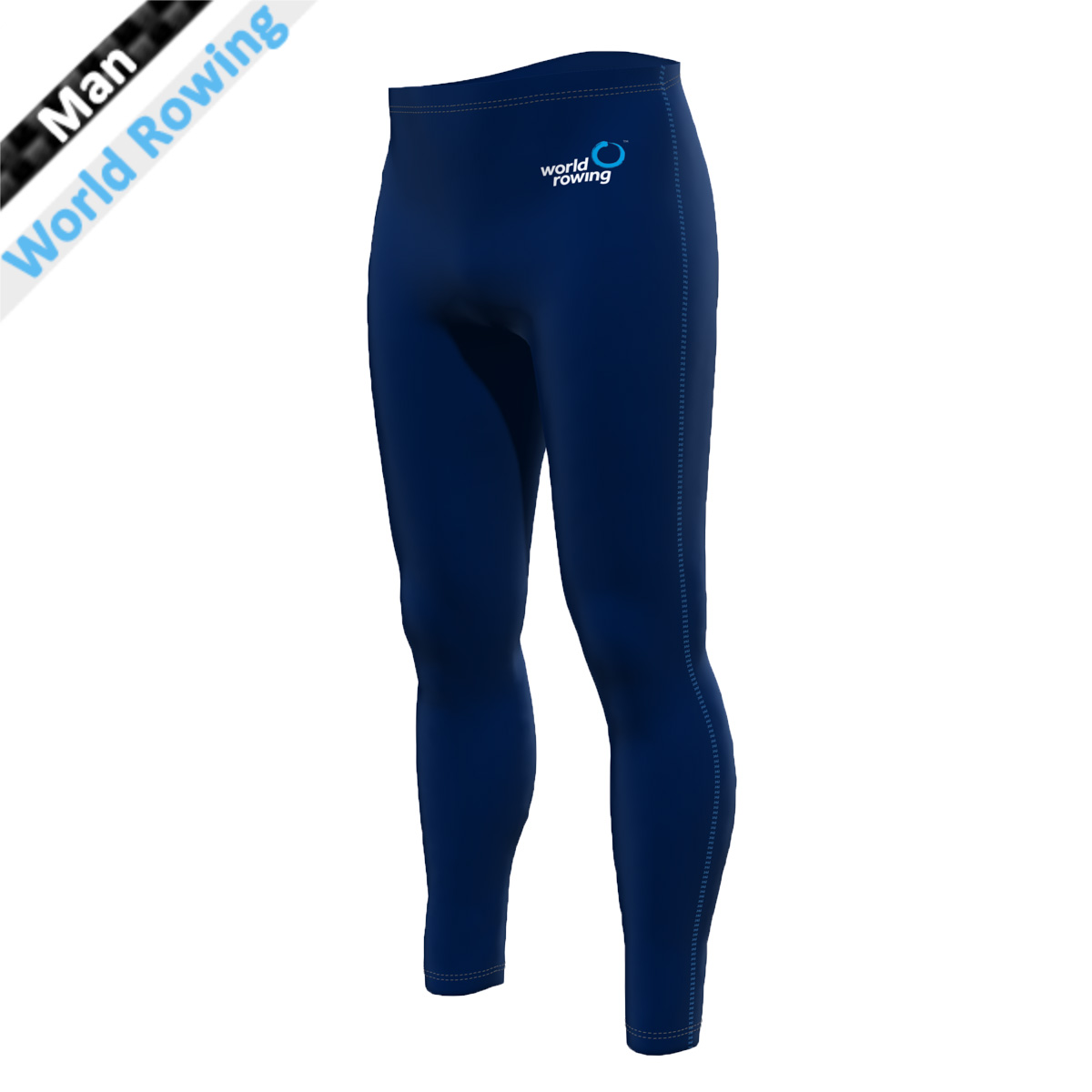 World Rowing Tights - marine blau