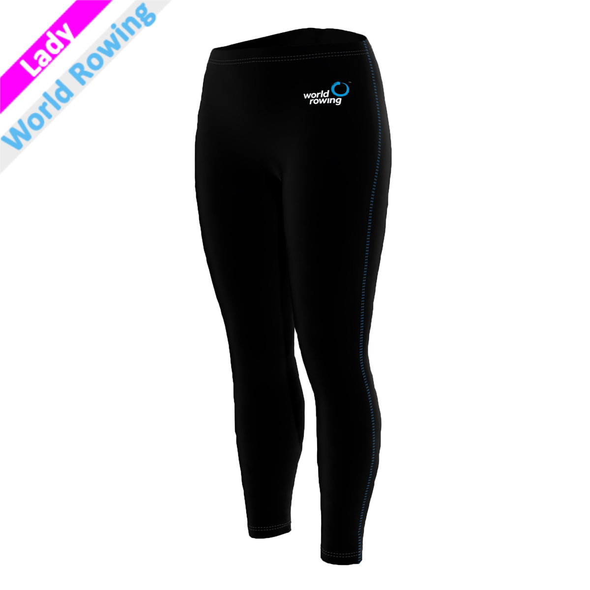 World Rowing Tights - schwarz F