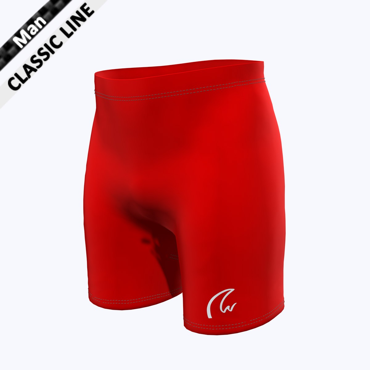 Plain Short Tight - Man rot