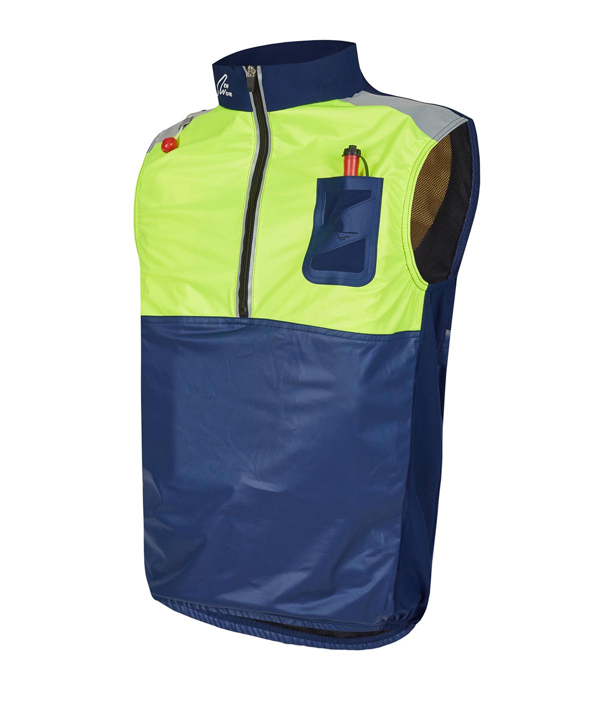 Row Life Vest - marine / gelb