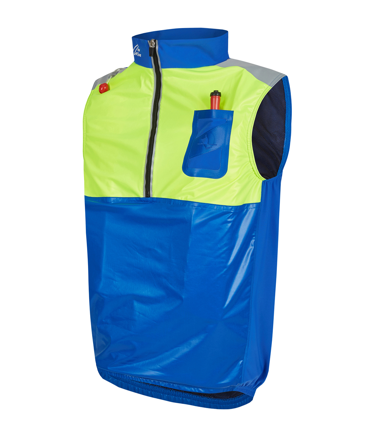 Row Life Vest - royal / gelb