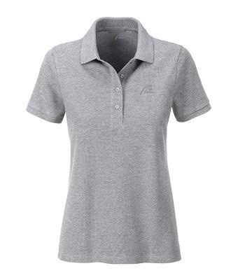 Premium Organic Polo - Lady grey-heather