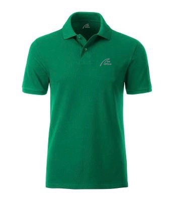 Premium Organic Polo - Man Irish-green