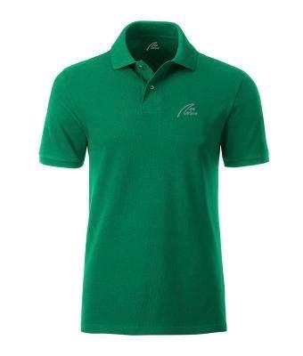 Premium Organic Polo - Man Irish-green