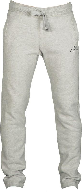College Style Pants-grau meliert