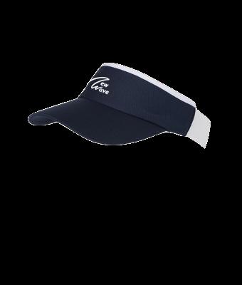 NW Stretchy Sunvisor marine; NW 3D Logo weiß