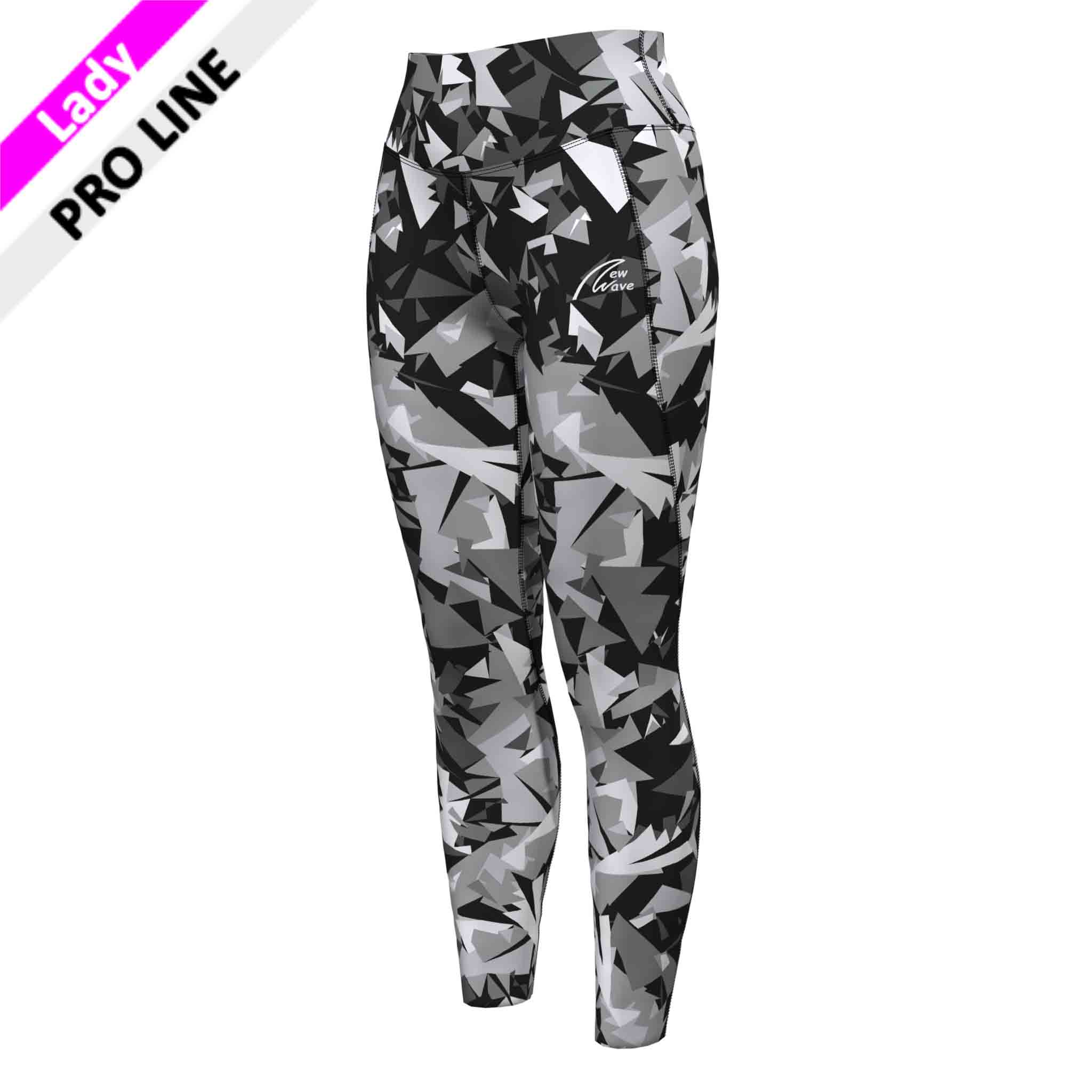 High Waist tights - vollprint camouflage
