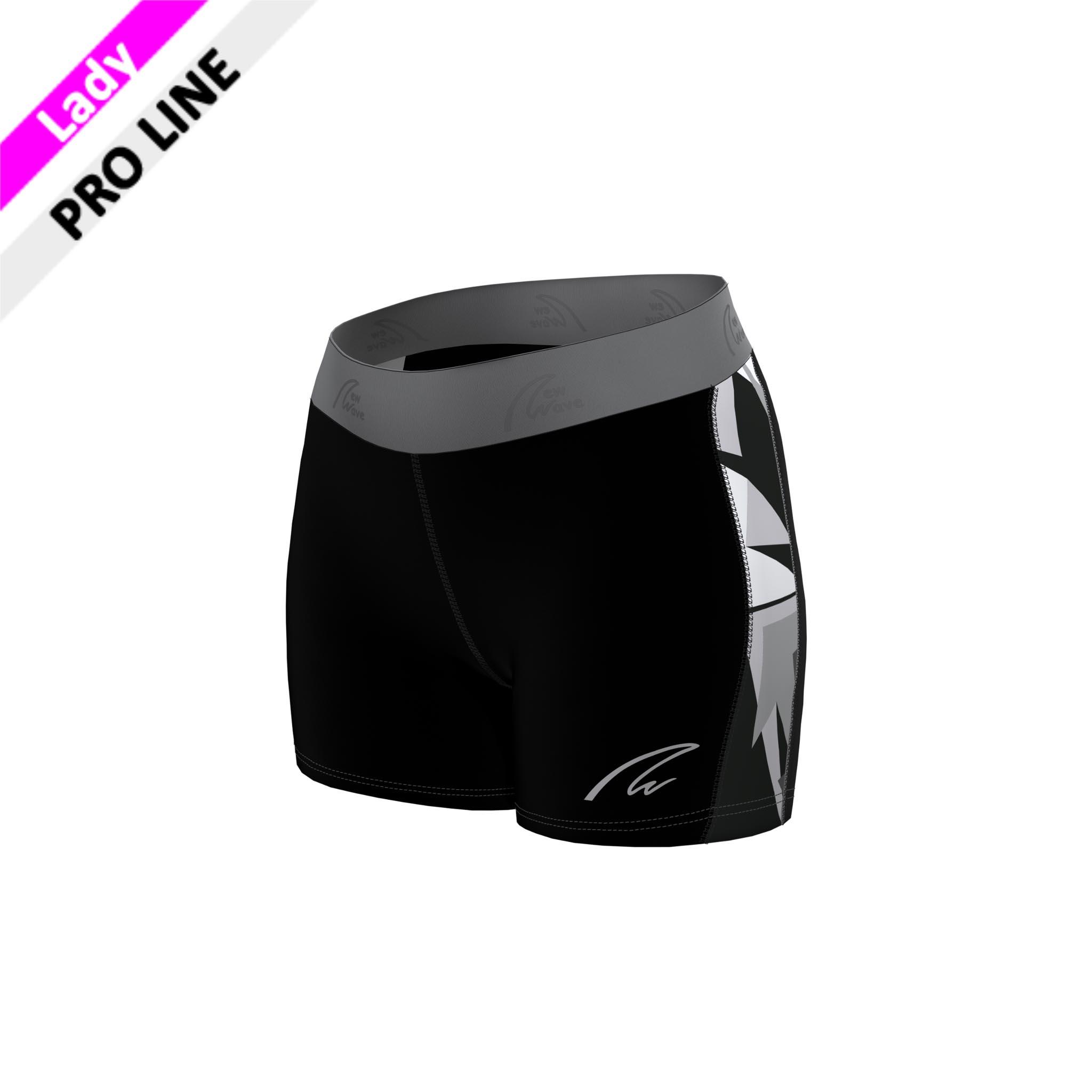 Flex Shorts - Camouflage F / Hose schwarz, Seitenstreifen Camouflage