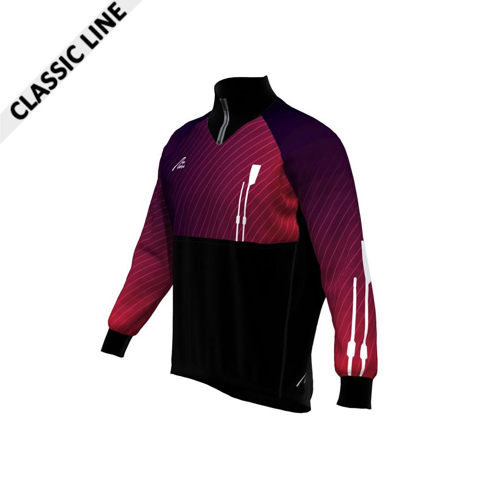 Gamex Jacket - 2020LE / Body unten, Seitenstreifen, Kragen, Bündchen - schwarz; Body oben, Arme - Sublimation