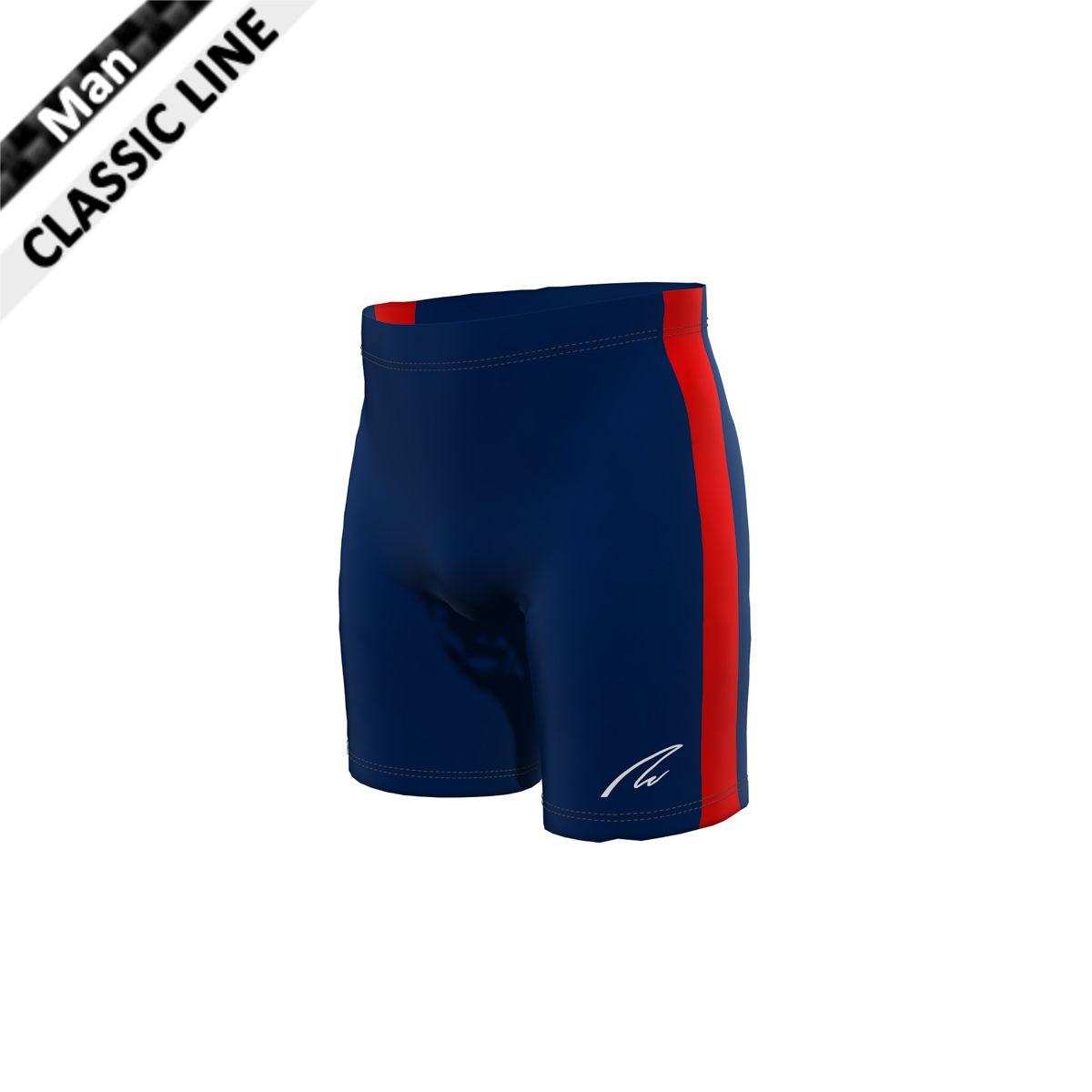 dbed9bcf77e3b Coloured Side Stripe - Short Tights - New Wave Sportswear GmbH